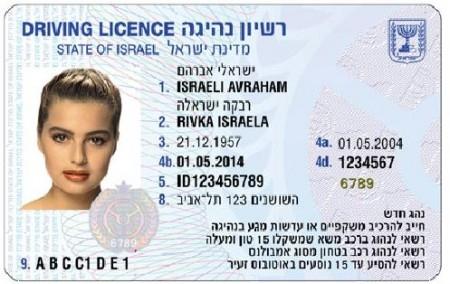 """רשיון נהיגה ישראלי, לא בטוח שתקף בחו""""ל - לחצו על התמונה כדי לבדוק"""