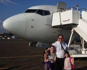 חרדה מטיסות - הבנות עם אבא טייס אל על