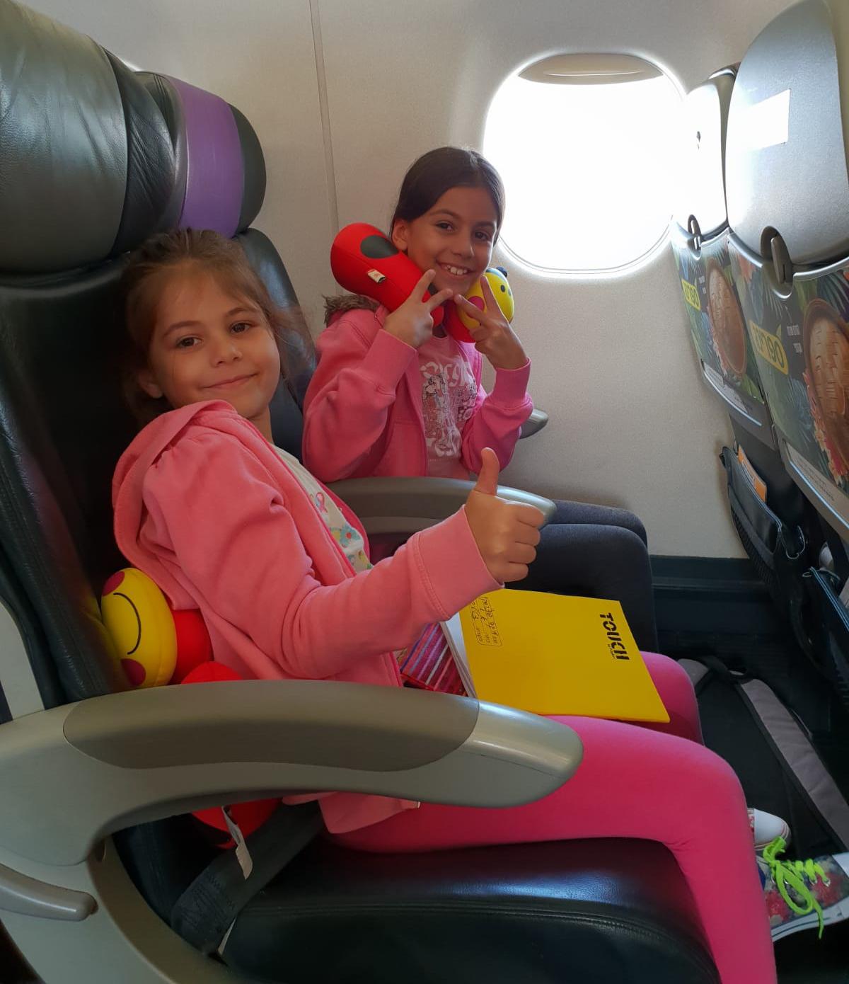 ילדים עם פחד טיסה