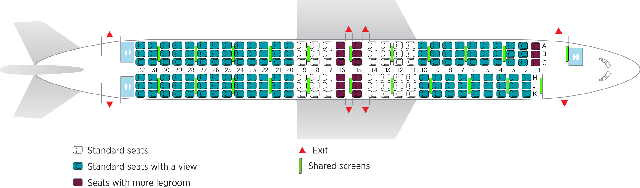 Delta 737 800 Seat Chart Wallseatco