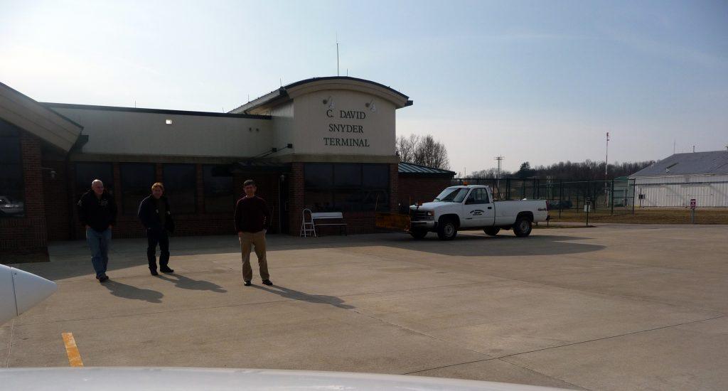 הטרמינל בשדה האוניברסיטה