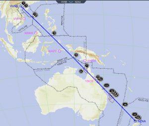 """מטיילים בחו""""ל הנתיב בין ויאטנם לניו זילנד זה לא ממש מעל ים..."""