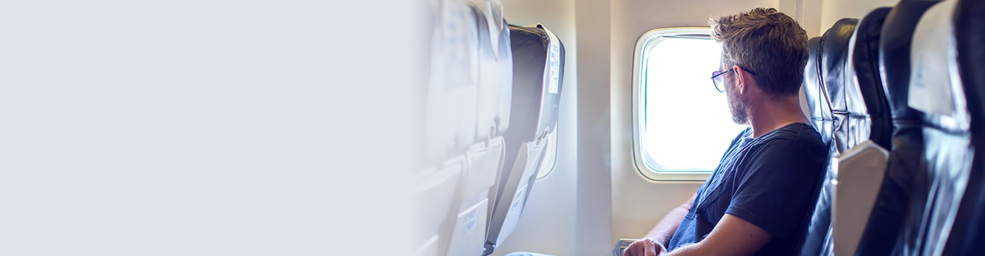 שלווה בטיסה-זה לא בשמים!
